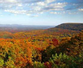 Fall in Arkansas.